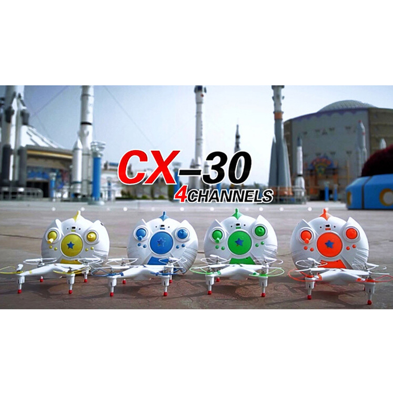 High Speed 3D 2.4G RC Drone With Four Axis Aircraft CX-30