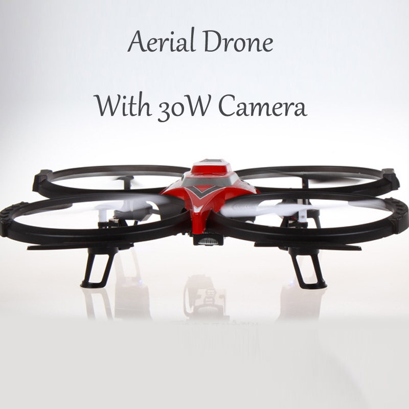 UFO Four Axis Aerial Drone With 30W Camera 2.4G RC Drone Aerocraft