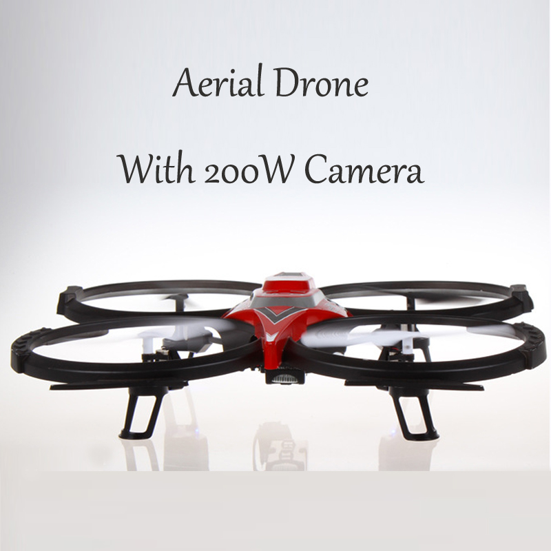 Hot 2.4G UFO Four Axis Aerial Drone RC Drone Aerocraft With 200W Camera