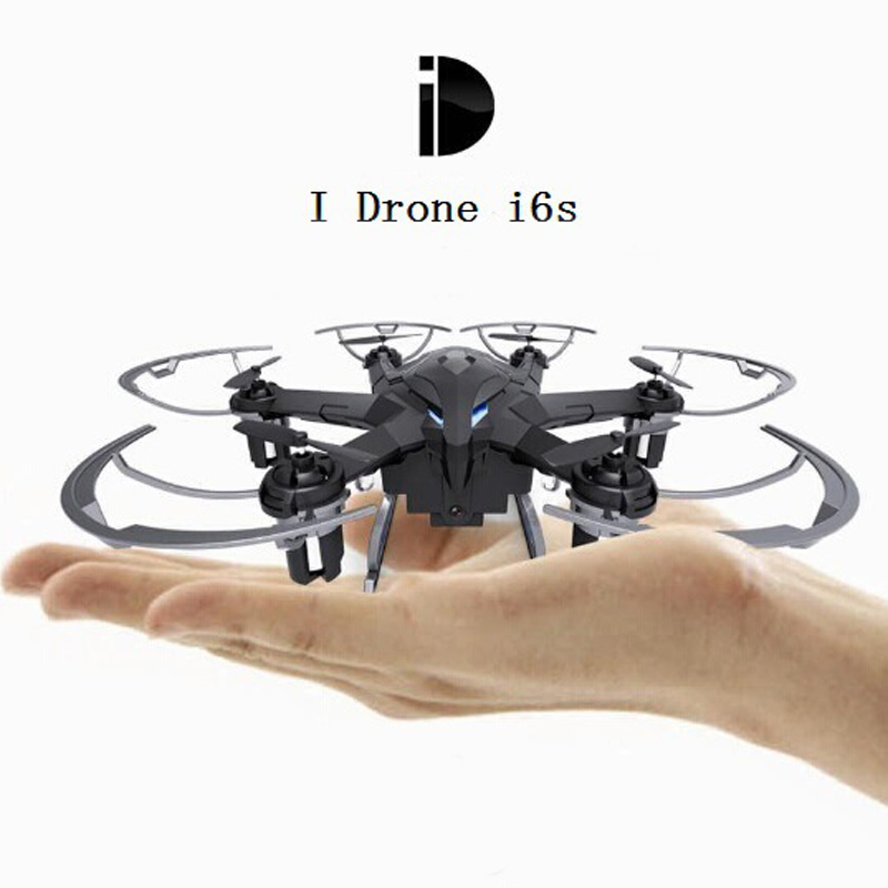 Mini Drone USB Charging Four Axis Aerial Drone With 200W Camera RC Drone   i6s