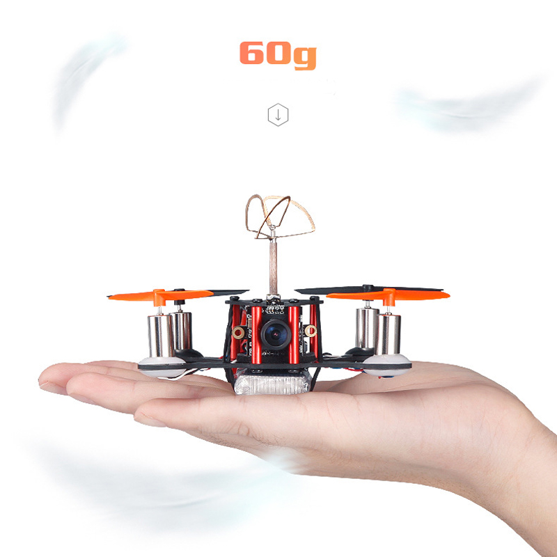 5.8G Carbon Fiber Frame Four Axis Aerial Drone High Speed JJPRO T2
