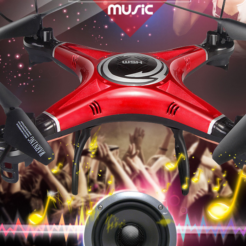 2.4G Built-in Music Drone Four Axis Aerial Drone RC Drone Airplane JJRC H5M