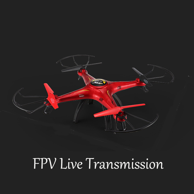 Real Time FPV Transmission RC Drone Four Axis Aerial Drone 2.4G Drone JJRC-  669-4