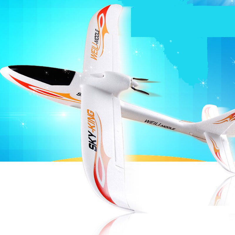 F959 RC Airplane 3 Channels 2.4GHz With 360 Degrees Spin For Kids Toys Gift