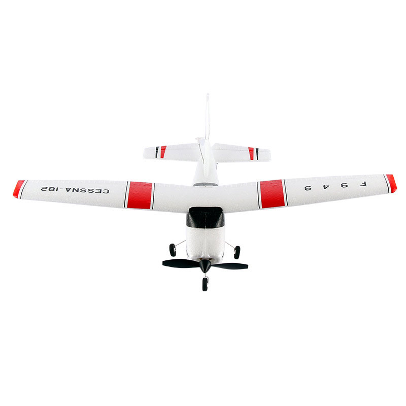 F949 RC Airplane 3 Channels 2.4GHz With 360 Degrees Spin For Kids Toys Gift