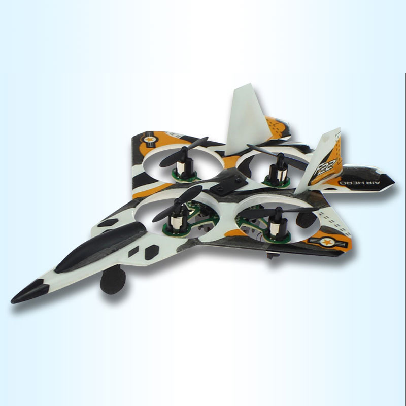 F22 6 axis gyroscope RC Airplane Toy With LED Light