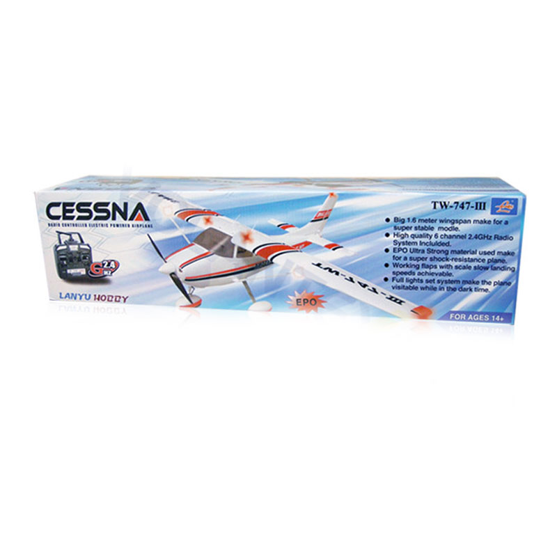 747-3 6 Channels Remote Control RC Airplane 1560mm Height