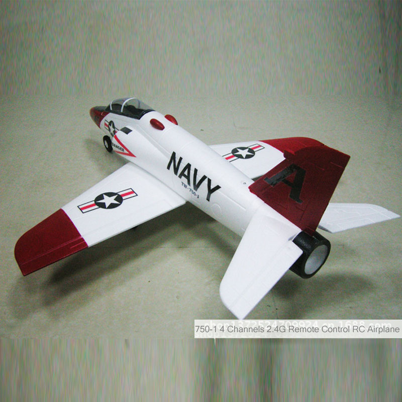 750-1 4 Channels 2.4G Remote Control RC Airplane