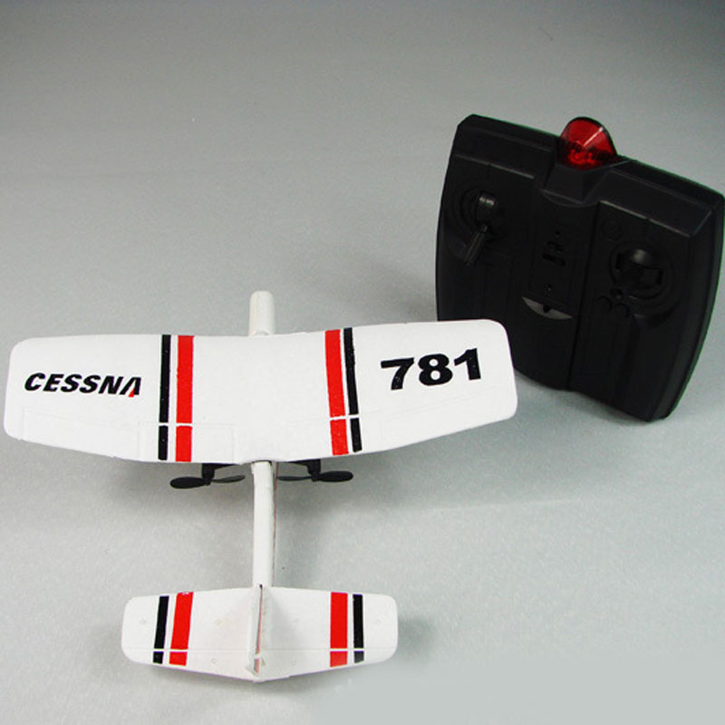 781 Mini Cessna 4 Channels Remote Control RC Airplane