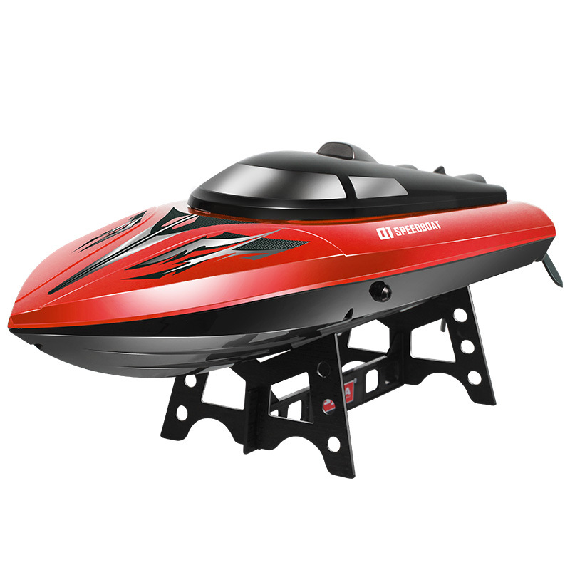SYMA Q1 Q2 Remote Control Speedboat 2.4GHZ 4CH RC boat Water Sensor Switch Cooling Device High Quality Toys Gift