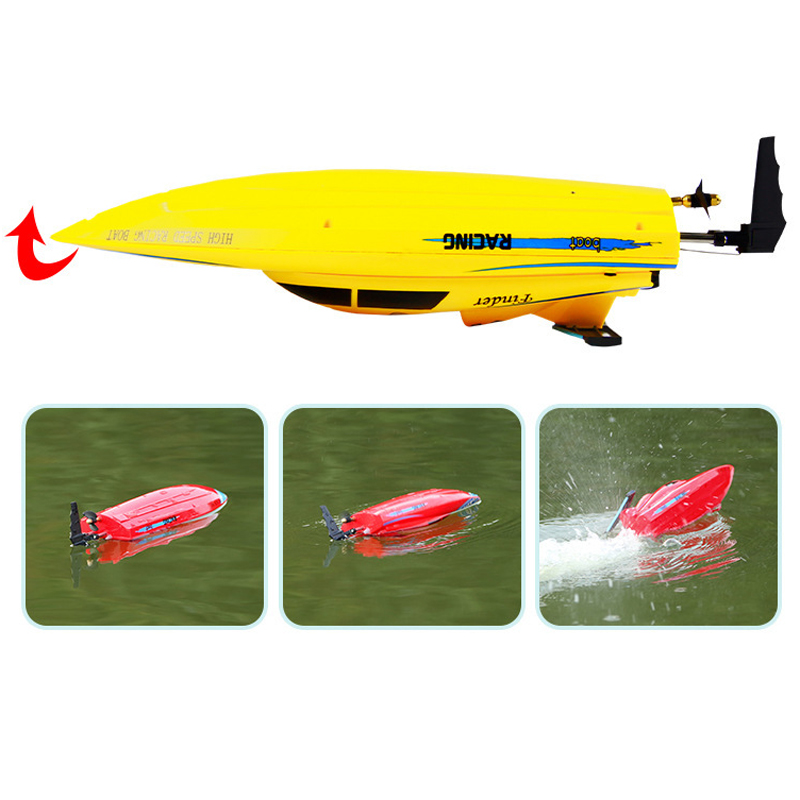 Wltoys RC Boat 4CH 2.4G High Speed 24km/h Racing Waterproof Toys