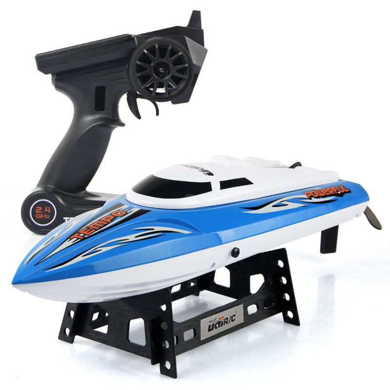 High Quality 4 Channels Remote Control 25KM/H High Speed Boat