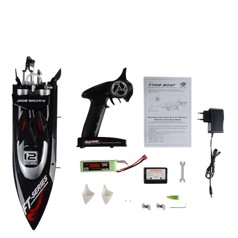 FT012 Brushless RC Boat With 11.1V 1800mAh Battery