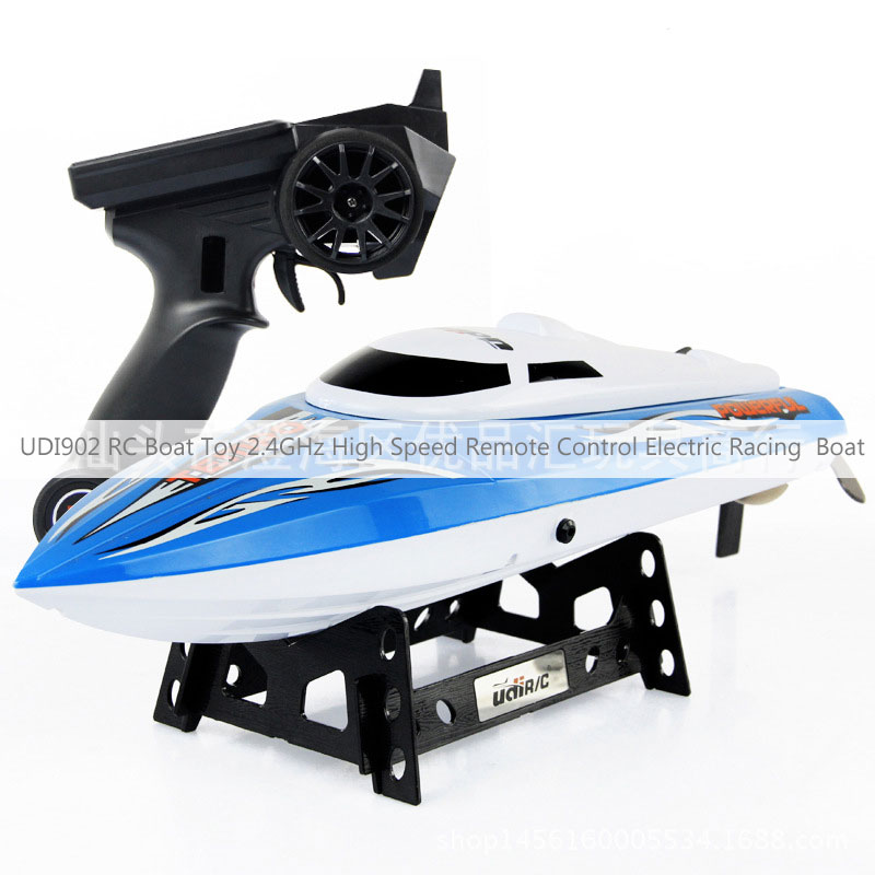 UDI902 RC Boat Toy 2.4GHz High Speed Remote Control Electric Racing Boat