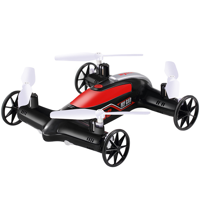 SYMA X9/X9S Powered Off-road Sport Rally Racing 4WD RC Flying Car Quadcopter with 2.4Ghz 4CH Transmitter RTR RC Drone