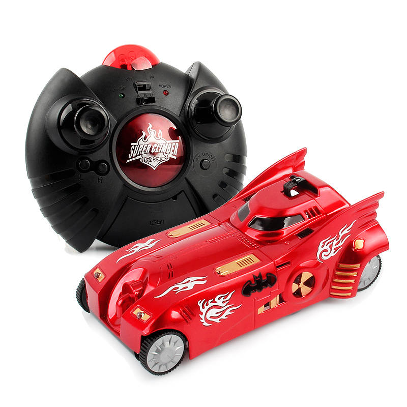 Remote Control Car Spider-Man Right Angle 90 Degrees Climbing Car