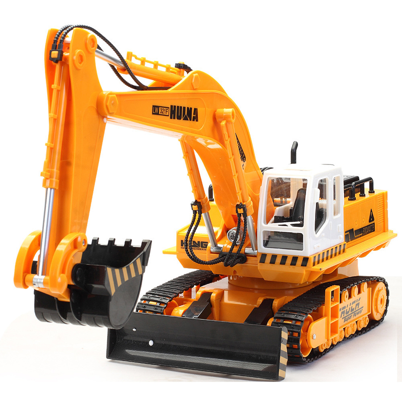 11 Channel Advanced RC Excavator Electric Engineering Vehicles