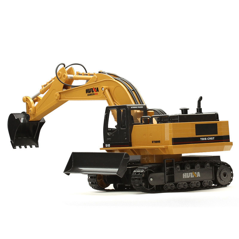 Wireless Remote Control Car Model Electric Vehicle Charging Simulation of Excavator