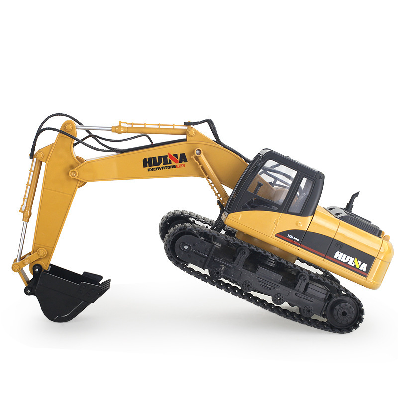 Excavator Construction Vehicle Alloy Truck Diecast Model Car Toys For Children