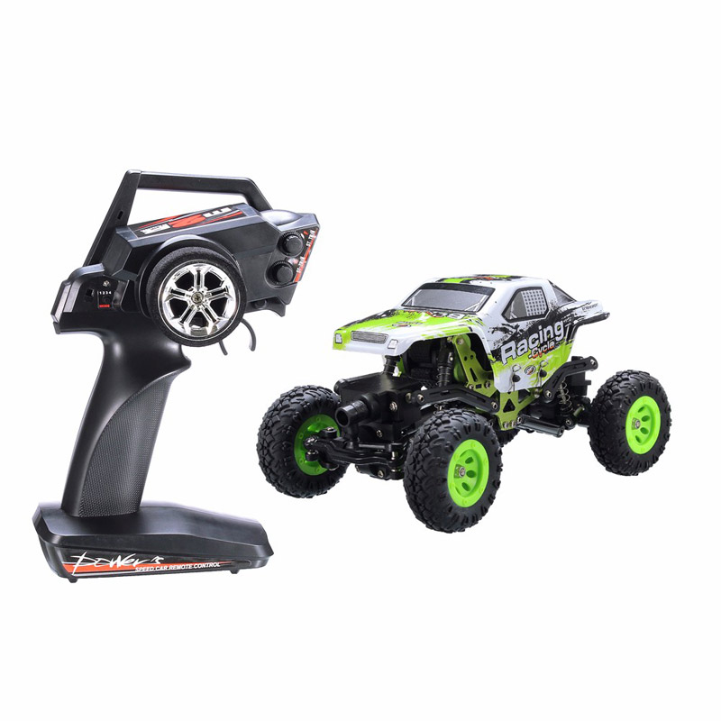 1:24 WLtoys RC Rock Crawler 2.4G Off-Road Remote Control Vehicle Toy 24438