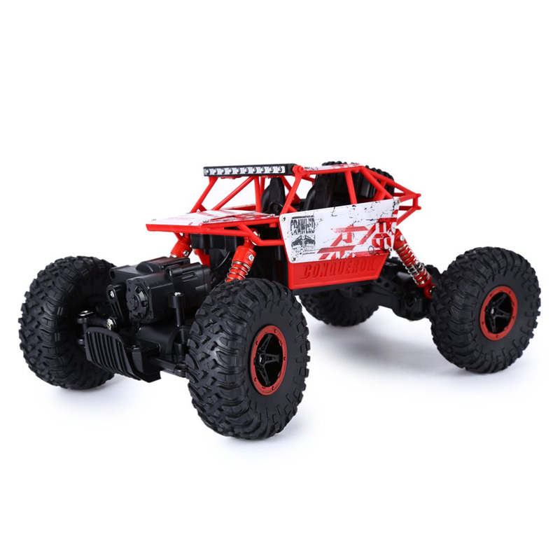 4WD 2.4GHz Rock Climbing Car 4x4 Remote Control Model Off-Road Vehicle
