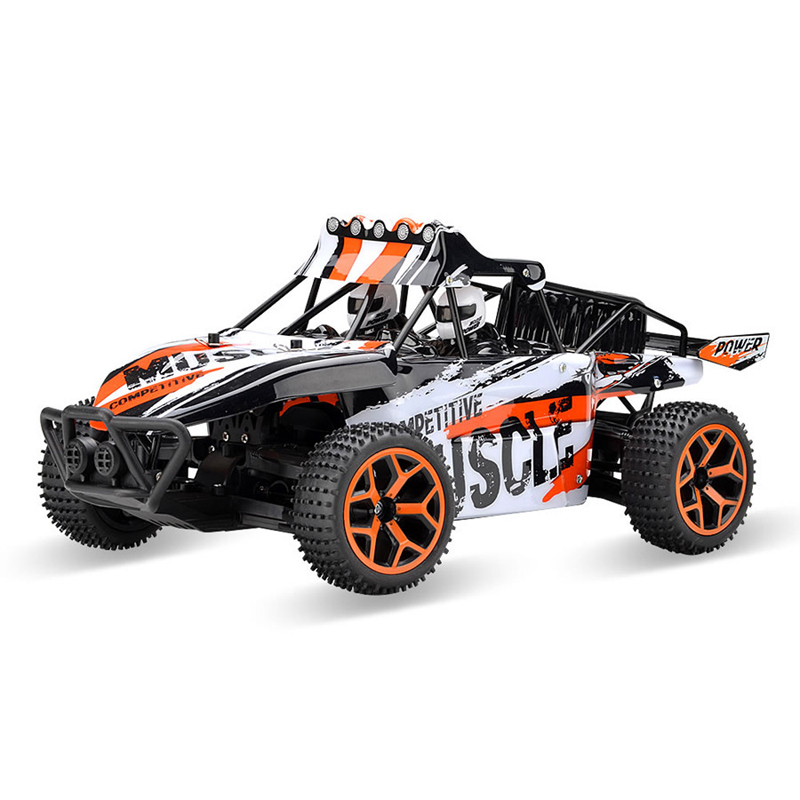 1:18 Scale 4 Wheel Drive Electric Crash Resistant High-speed Off-road RC Car