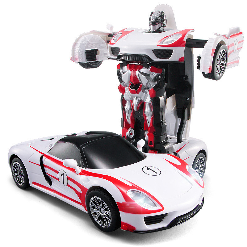 Racing Car Models Deformation Robot Transformation RC Car Toys for Children Christmas Gift