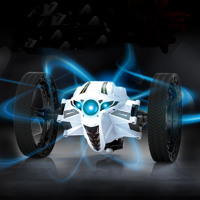 Hot 1/10 Intelligent Bounce RC Car Creative Electric 2.4GHz 4CH Impact Resistant Bounce Stunt Car