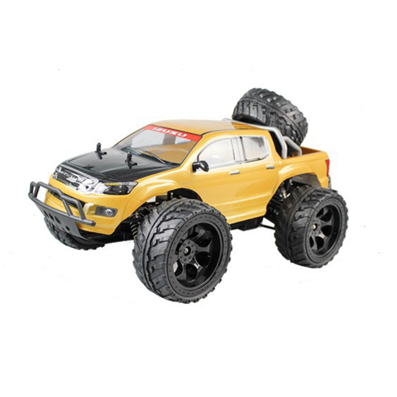 Cool 1/10 Bull Wheel 2.4G High Speed RC Car With Backup Wheel