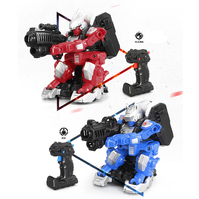 New Infrared Ray Shift Battle Robot 2.4G Warrior Robot Toy 27101