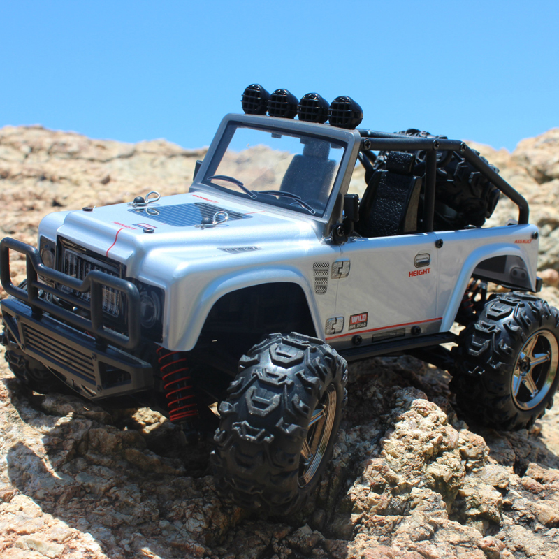 Cool Design Off-Road Four Wheel RC Car 1/22 2.4G High Speed Jump Car