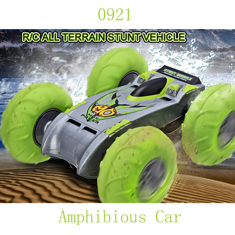 0921 Amphibious RC Off-road Car 2.4G High Speed Jump Car