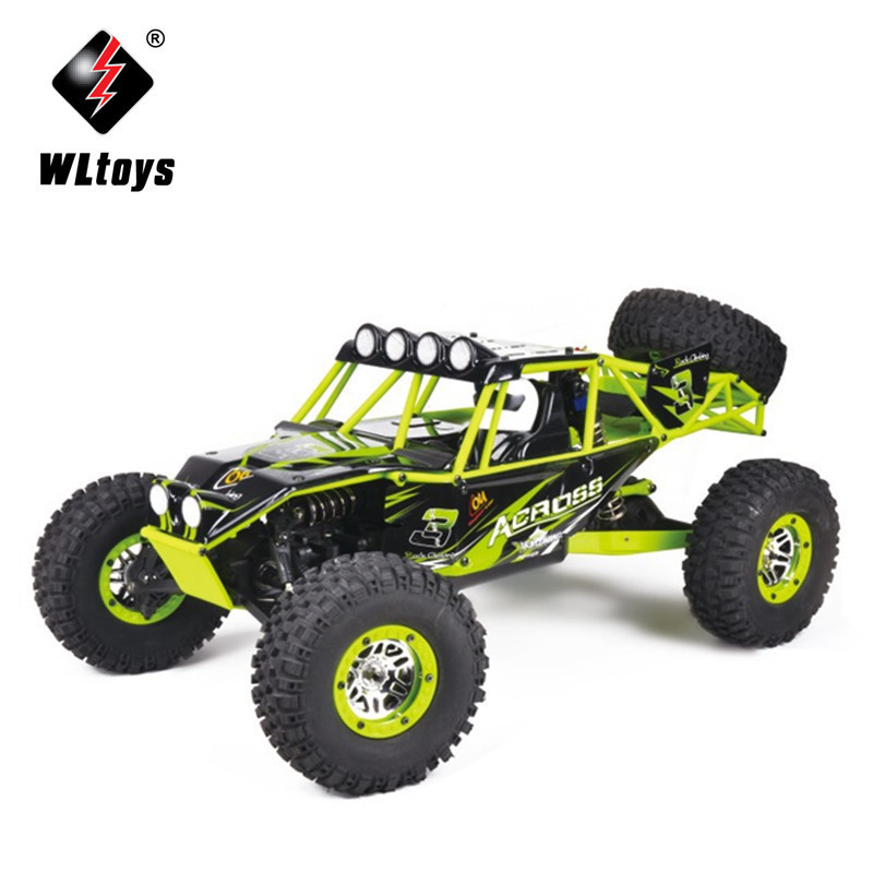 WL10428 1:10 Scale Remote Control Electric Wild Track Warrior Car Vehicle