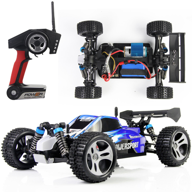 WLtoys A959 1/18 2.4G Racing Car With Anti-vibration System RC Off-Road