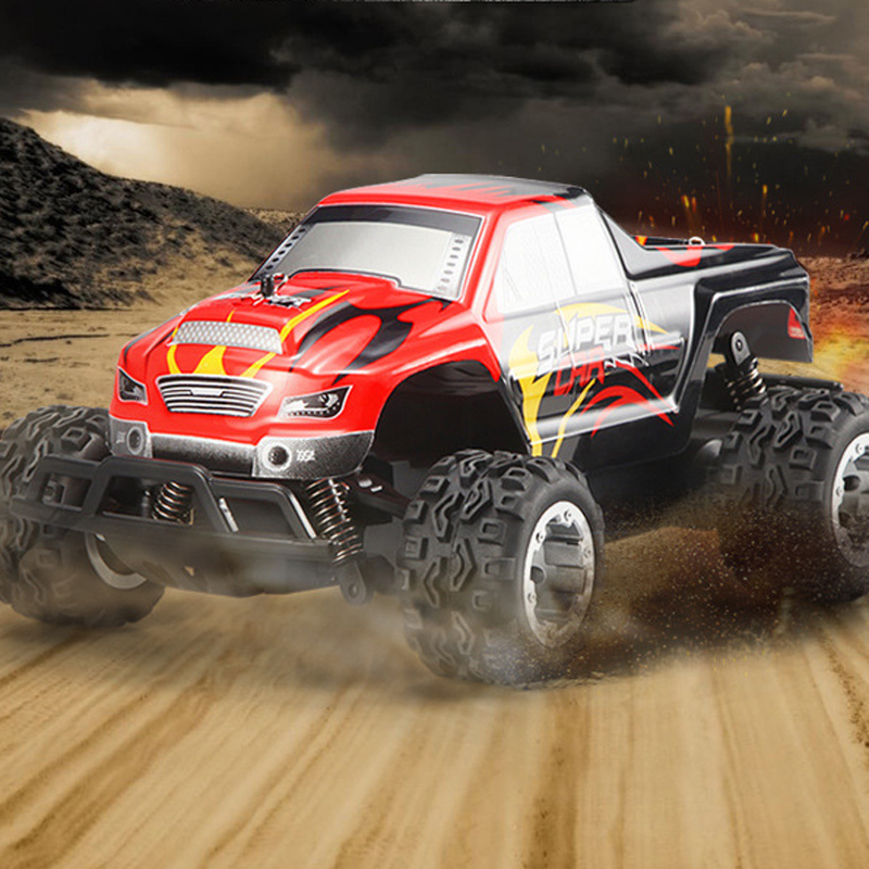 WLtoys L343 Cool 1/24 2.4G Electric Brushed 2WD RTR RC Monster Truck RTR