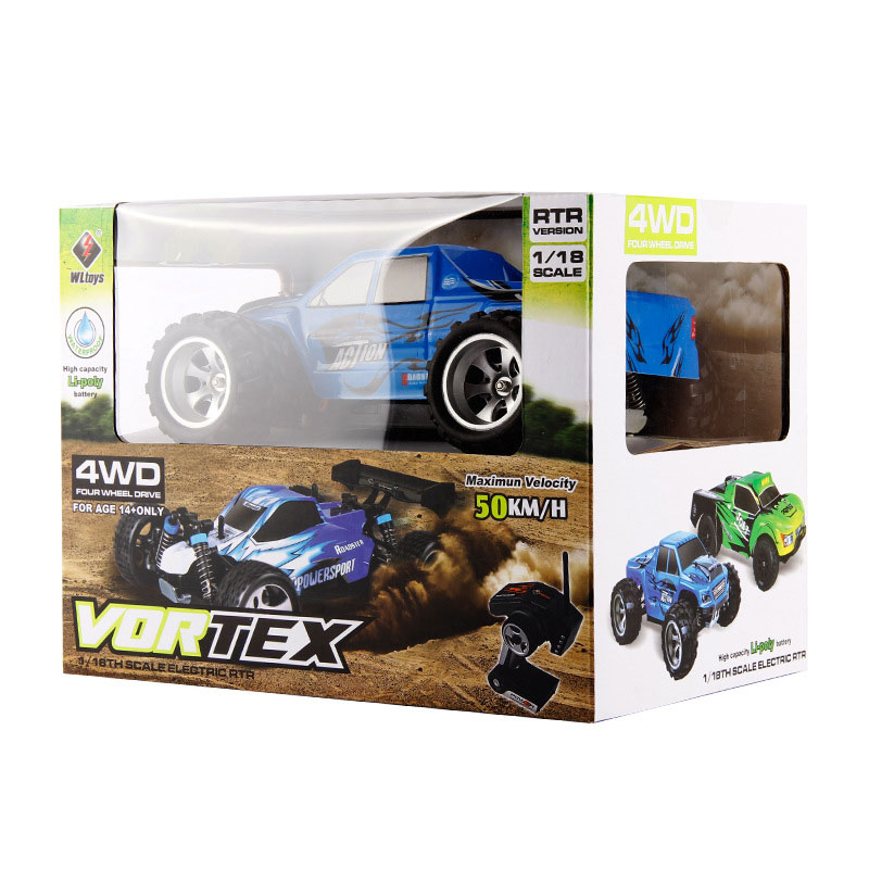 Wltoys A979 RC Electric Car Toy Gift 4WD 50KMH High Speed Racing