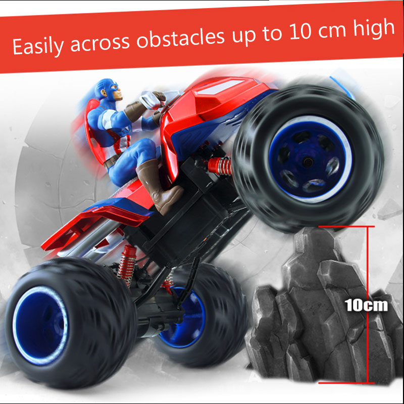 M005 Captain America Double Motor 4WD RC Car SUV Off-road Climbing