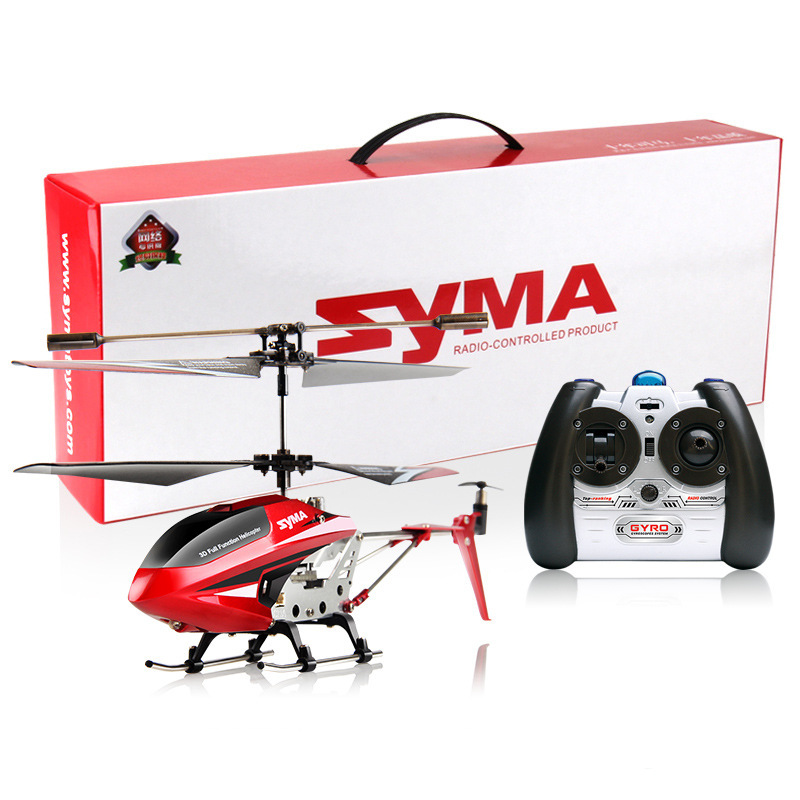 SYMA S107W 3.5CH Infrared RC Easy Remote Control Aircraft Helicopter Shatterproof LED Lights Toys