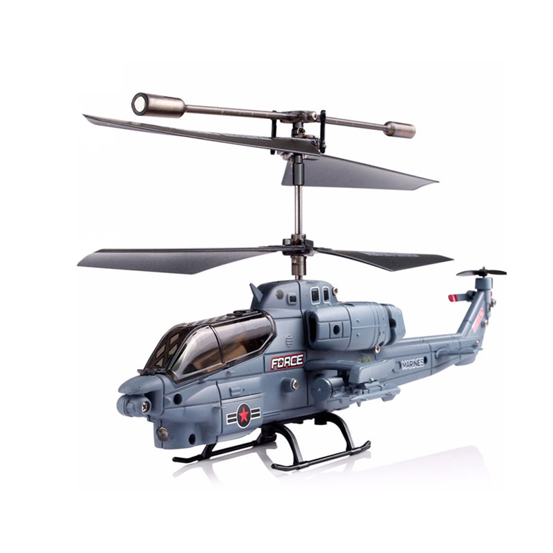 SYMA S108G 3.5CH Mini Simulation Army RC Helicopters Cobra Choppers Military Toys for Kid