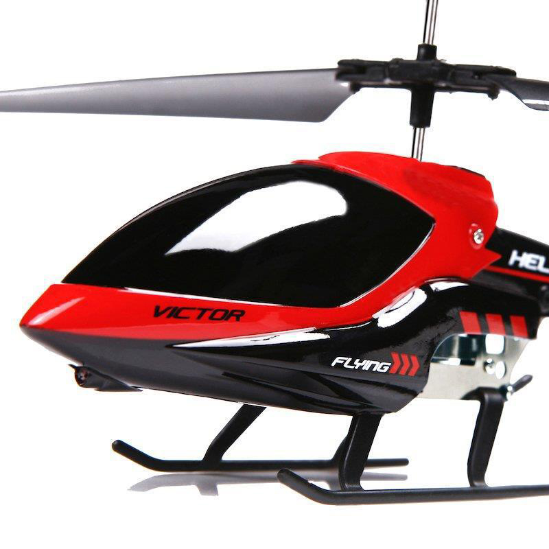 3.5CH 2.4GHz Mode 2 RTF Gyro Remote Control Helicopters