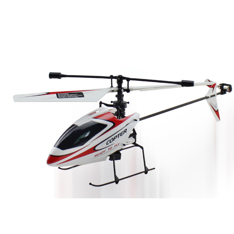 2.4G 4CH Single Blade Gyro RC MINI Helicopter V911