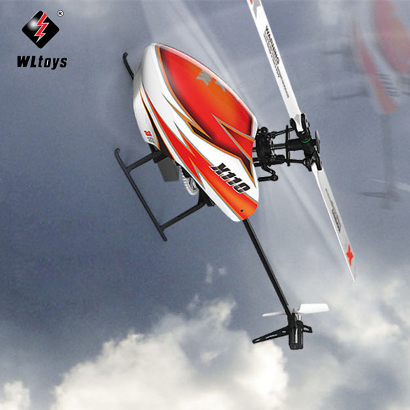 XK K110 Inverted Flight Blash 6CH Brushless 3D6G System radio Helicopter