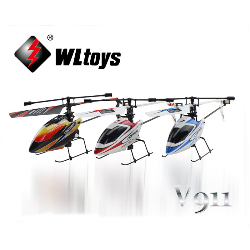 WLtoys V911 2.4G 4CH RC Helicopter Drone Toy RC Drones Flying Toy Helicopter