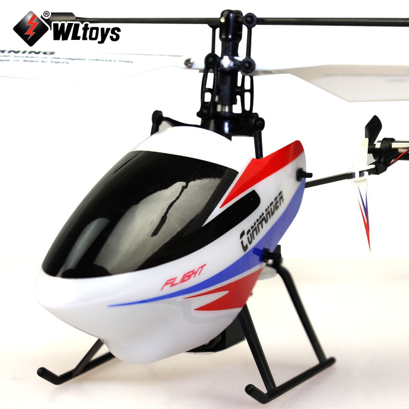 WL V911-2 4CH 2.4G LCD Display RC Helicopter V911 Upgrde Version