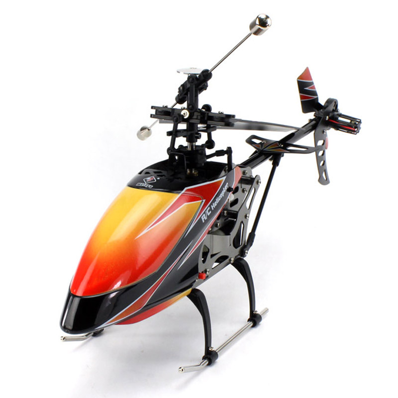 WL V912 Large RC Helicopter 4CH 2.4G LCD Display Single-blade Helicopter