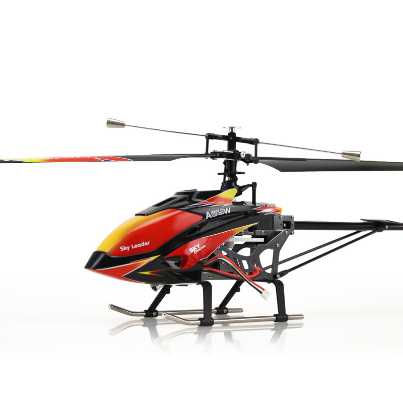 WL V913 4CH Single Propeller RC Helicopter Built-In Gyro Toys With LCD Transmitter