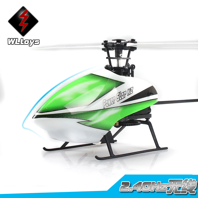WLtoys V930 Flybarless 4 Channel Single-blade Remote Control Helicopter