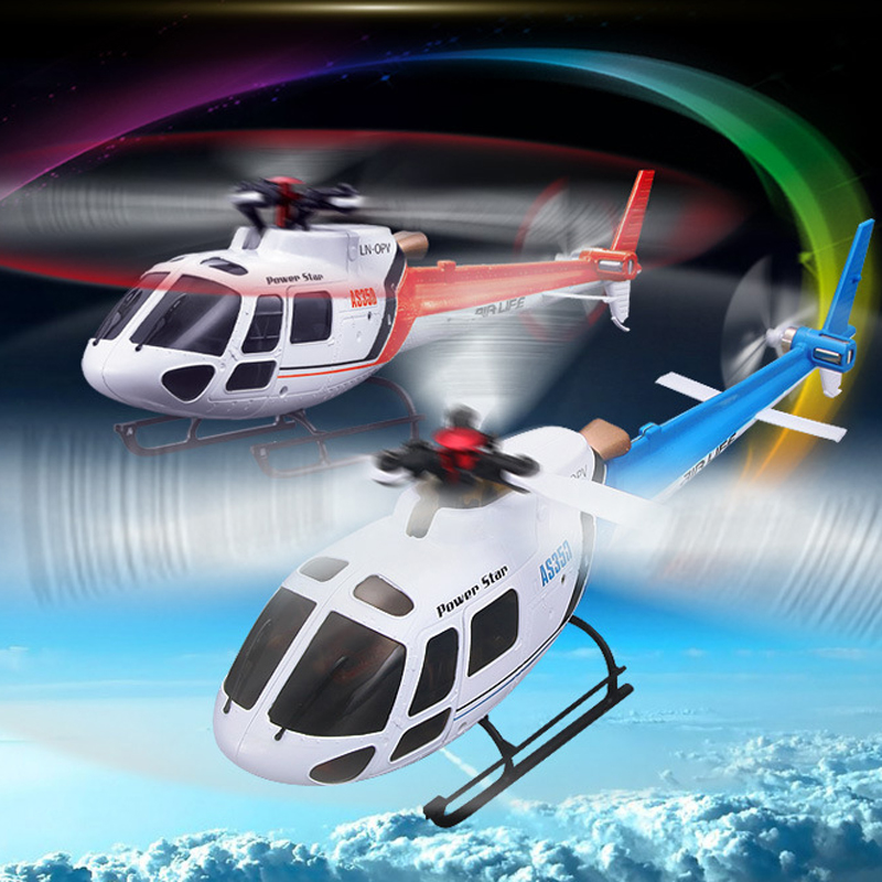 WLtoys V931 Single-blade 6CH Remote Control Helicopter Flybarless RC Helicopter