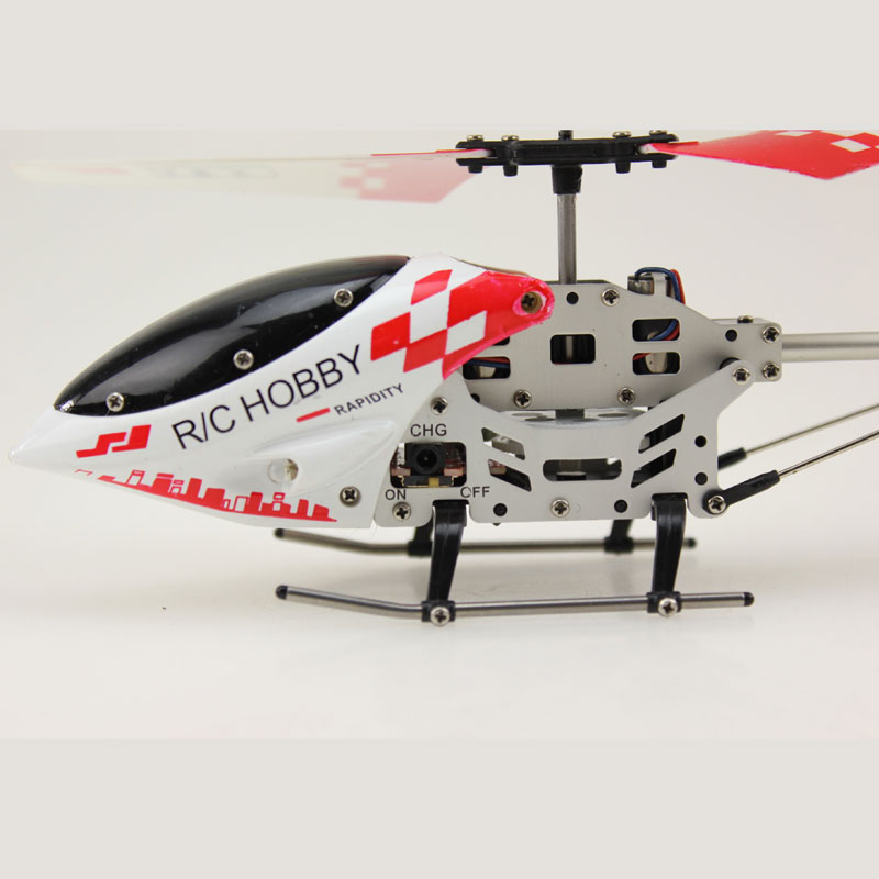 3.5 Channels RC Helicopter With Double Paddle Remote Control Toys