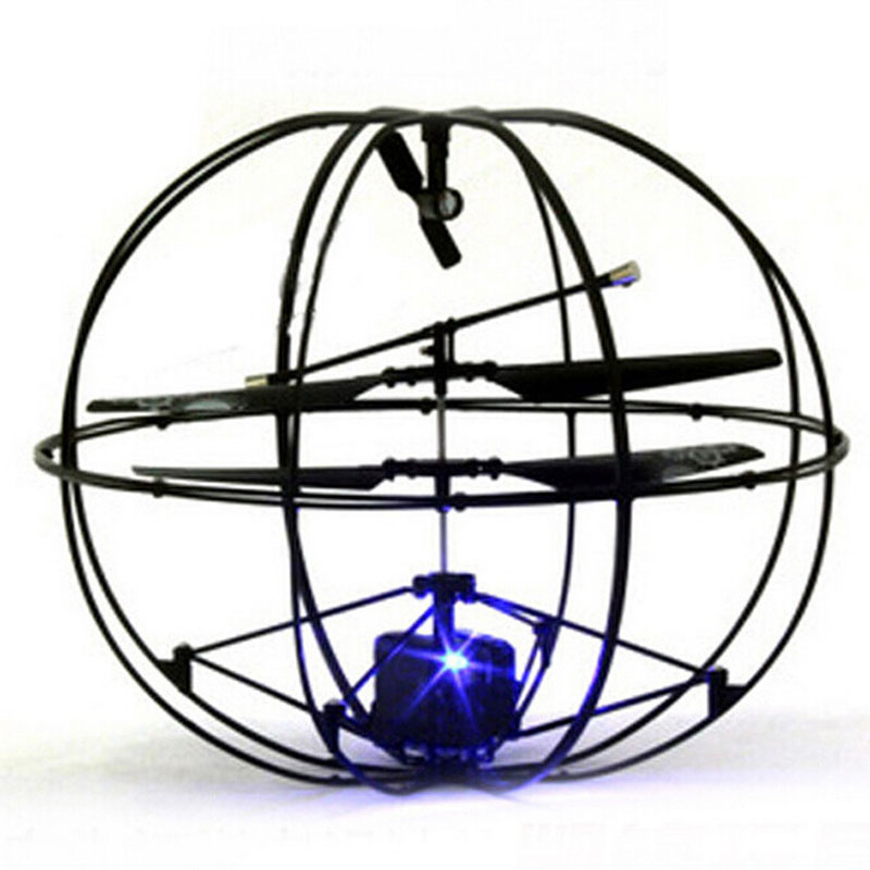 3.5 Channels RC UFO Ball Helicopter With Four Axis For Kids Toys Gift